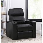 Travis Power-Recline Home Theater Seating (Assorted Colors) by Abbyson Living $399