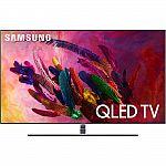 "Samsung QN75Q7FN 75"" QLED 4K UHD 7 Series Smart TV 2018 $2264 + Get $566 reward points back"