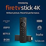 Fire TV Stick $24.99, Fire TV Stick 4K $34.99, TV Cube $70 (Prime members only)