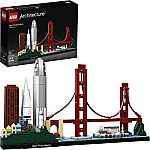 Amazon 20% Off Select NEW 2019 LEGO Architecture Sets: LEGO Architecture  21043 San Francisco Building Kit (565 Piece) $40 & more