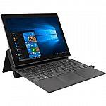 "Lenovo Miix 630 12"" FHD 2-in-1 Laptop (Qualcomm Snapdragon 835 4GB, 128GB) $399"
