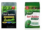 Lowes: Scotts 4,000-sq ft Turf Builder Triple Action + 5,000-sq ft Turf Builder Lawn Food $26.98