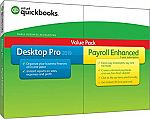 QuickBooks Desktop Pro 2019 with Enhanced Payroll $134 (PC), $79 (Mac)