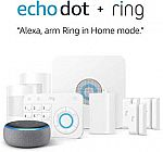 Ring Alarm 8 Piece Kit + Echo Dot (3rd Gen) $179
