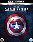 Captain America: 3-Movie Collection Pre-Order (4K Ultra HD + Blu-ray) $41.60