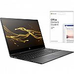 "HP ENVY 2-in-1 15.6"" FHD Touch-Screen Laptop (AMD Ryzen 5, 8GB, 128GB SSD, Radeon RX Vega 8) + Office H&S 2019 $549.99"
