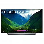 LG OLED55C8AUA 55-Inch 4K Ultra HD Smart OLED TV $950
