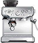Breville BES870XL Barista Express Espresso Machine $480