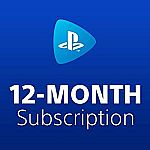 PlayStation Now: 12 Month Subscription [Digital Code] $60