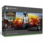 Xbox One X 1TB PUBG Console Bundle $330
