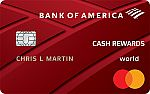 Bank of America® Cash Rewards Credit Card - $200 Cash Offer + Earn 3% Cash Back in Your Choice Category