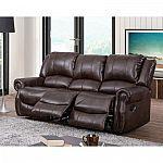 Turner Triple Reclining Fabric Sofa $499 (Org $1219)