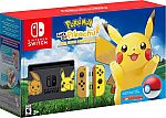 Nintendo Switch Pikachu Eevee Edition with Pokémon Let's Go Pikachu Pokeball Plus $399.99