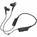 Audio-Technica ATH-ANC40BT QuietPoint Active Noise-Cancelling Wireless In-Ear Headphones $70