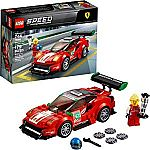 "LEGO Speed Champions Ferrari 488 GT3 ""Scuderia Corsa"" 75886 Building Kit $12 & More"