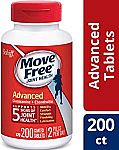 200-count Move Free Joint Health Supplement Tablets $18.89