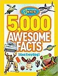 5,000 Awesome Facts (About Everything!) (National Geographic Kids) $8.26 (Org $20)