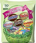 110 Piece Bag MARS Chocolate & More Easter Spring Candy Variety Mix $8.98