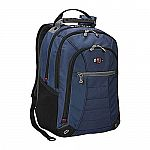 "SwissGear Bags: Skywalk Double Gusset 16"" Padded Laptop Backpack or Women's RHEA Leather Laptop Tote $30 + Free Shipping"