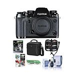 FUJIFILM X-T2 Mirrorless Digital Camera Body with Free Accessory Kit $899