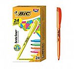 Amazon BIC Writing Sale (Highlighters, Pens and more) 12-Ct BIC Brite Liner Highlighter $4 and more