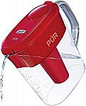 PUR 11 Cup Ultimate Pitcher with LED & Lead Reduction Filter $14