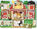 Melissa & Doug Hide & Seek Farm $8.73 (orig. $17)