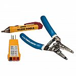 Klein Tools 3-Piece Strip and Test Kit $24.88 and more