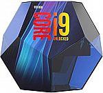 Intel Core i9-9900K Desktop Processor 8 Cores up to 5.0 GHz Turbo Unlocked LGA1151 300 Series 95W $490