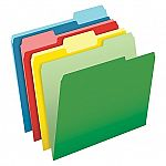 Pendaflex Letter Size File Folders: 100-Count CutLess 3-Tab $4.84 and more