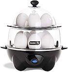 Dash DEC012BK Deluxe Rapid Egg Cooker (12 Capacity) $18 (org $40)