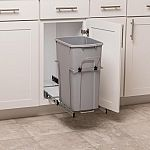 Simply Put 35-Quart Plastic Pull Out Trash Can $23 (48% Off) & More