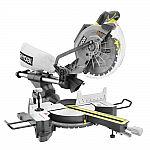 RYOBI 15 Amp 10 in. Sliding Miter Saw with Laser $129