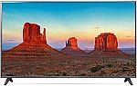 "75"" LG 75UK6190PUB 4K HDR Smart TV + $250 Dell eGift Card $999.99"