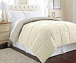 Up to 40% Off Select Amrapur Alternative Down Comforters Goose Down Alternative Microfiber Quilted Reversible Comforter/Duvet $21 & More