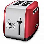 KitchenAid 2-Slice Toaster (3 colors) $35 (Org $50)