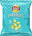 40-Count Lay's Poppables Sea Salted Potato Snacks Singles $7.42