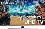 """Samsung UN55NU8000 55"""" LED 4K Smart HDR TV $650"""