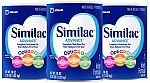3-Count 36oz Similac Advance Infant Formula with Iron, Powder $52.54