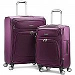 "Samsonite StackIt Plus 2 Piece Stackable 1680D Luggage Spinner Set (20"" & 25"") $99 + Free Shipping"
