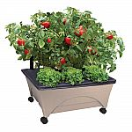 Gardening and Lawn Care Sale: 24.5 in. x 20.5 in. Patio Raised Garden Bed Grow Box Kit $20 & More