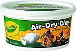 Crayola Air-Dry Clay, White, 2.5 Lb Resealable Bucket $3 + Store pickup