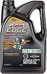 5 quart Castrol 03128C EDGE High Mileage 5W-30 Advanced Full Synthetic Motor Oil $17