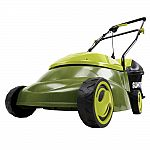 Sun Joe 14 in. 12 Amp Corded Electric Walk Behind Push Lawn Mower $79 & More + Free Shipping