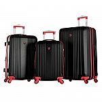 Up to 81% Off Select Spinner Luggage, Mattress Toppers & More: Olympia USA Apache II 3-Piece Expandable Spinner Set $99.97 & More