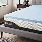 "Home Depot 2"" Memory Foam Mattress Toppers Sale: Twin from $23, Full from $35, Queen from $42"