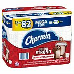 42-Rolls MegaPlus Charmin Ultra Strong Toilet Paper + $10 Target Gift Card $41 or Less