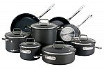 """All-Clad (New in Damaged Packaging): 12"""" Hard Anodized Fry Pan $36, 13"""" x 16"""" Large Roaster with Rack $68. 13-Piece HA Cookware Set $265 & More + Free Shipping"""