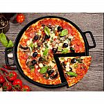 Home-Complete 14 in. Cast Iron Pizza Pan $15.88