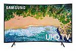 "Samsung UN55NU7300 Curved 55"" 4K UHD 7 Series Smart TV 2018 $406"